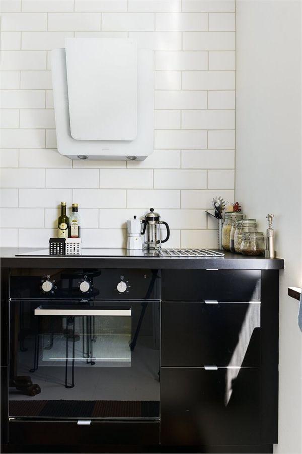 Cocinas en blanco y negro depto51 blog - Cocinas en blanco y negro ...