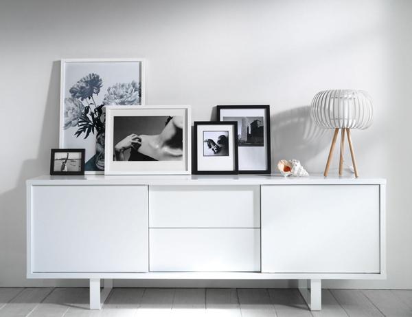 Decorar con cuadros en blanco y negro depto51 blog - Decoracion blanco y negro ...