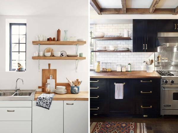 Cubiertas de madera en la cocina - Depto51 Blog