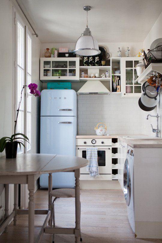 Asombroso Refrigeradores Para Cocinas Pequeñas Patrón - Ideas de ...