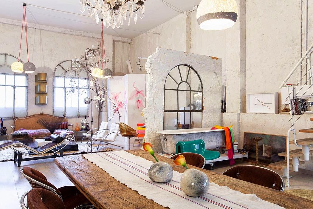 Una casa estudio con mucho arte en madrid depto51 blog - Casas singulares madrid ...