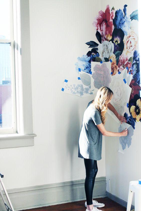 Adi 243 S Al Papel Mural Dale La Bienvenida Al Papel