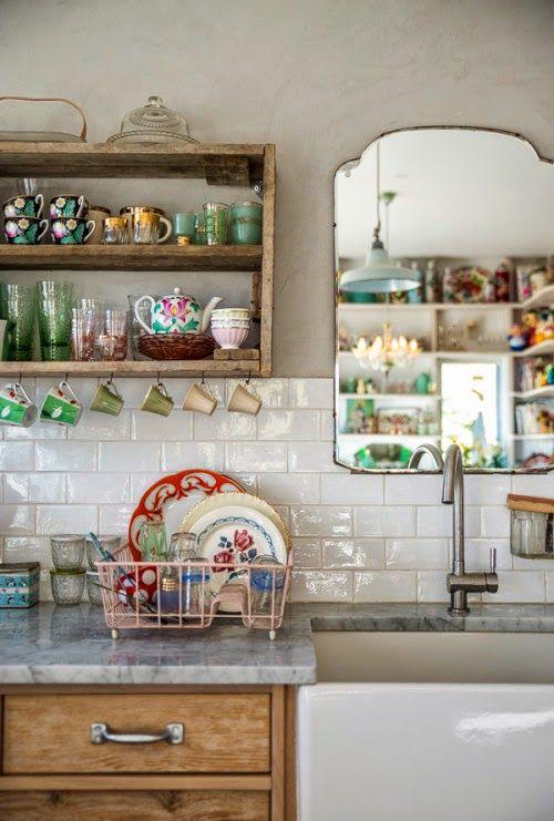 Muebles de cocina descubre c mo combinar sus materiales for Decoracion de cocinas vintage