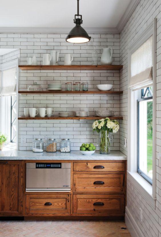 Muebles de cocina descubre c mo combinar sus materiales - Materiales para muebles de cocina ...