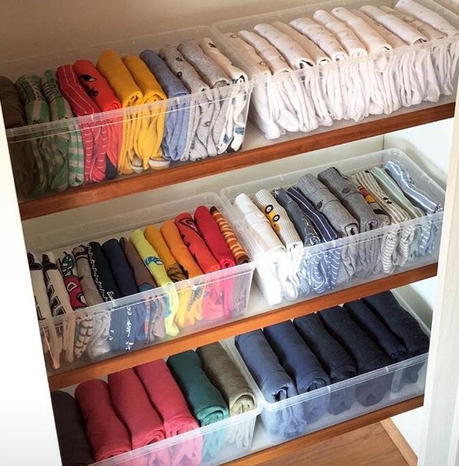 La magia del orden 3 tips para ordenar el cl set - Como ordenar tu armario ...